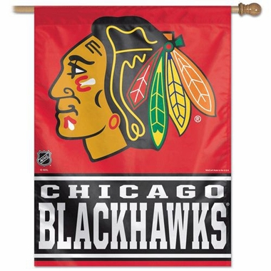 "Chicago Blackhawks 27""x37"" Banner"
