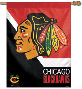 "Chicago Blackhawks 27"" x 37"" Banner"