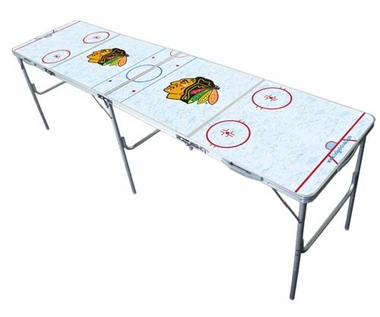 Chicago Blackhawks 2x8 Tailgate Table
