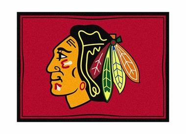 "Chicago Blackhawks 3'10"" x 5'4"" Premium Spirit Rug"
