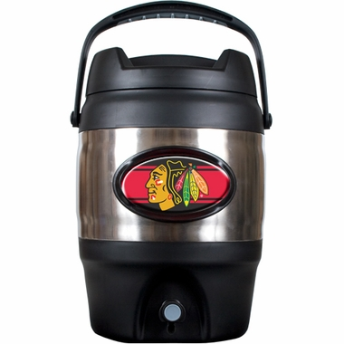 Chicago Blackhawks 3 Gallon Stainless Steel Jug