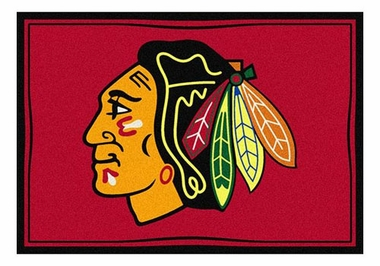 "Chicago Blackhawks 5'4"" x 7'8"" Premium Spirit Rug"