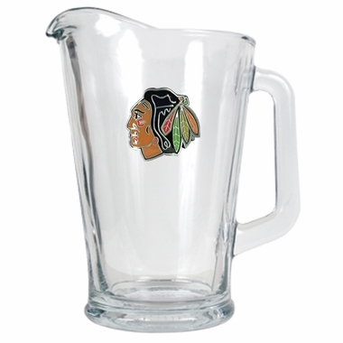 Chicago Blackhawks 60 oz Glass Pitcher