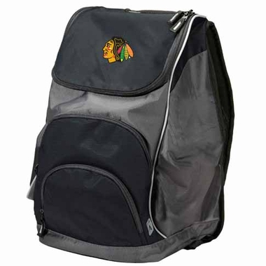 Chicago Blackhawks Action Backpack (Color: Black)