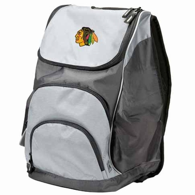 Chicago Blackhawks Action Backpack (Color: Grey)