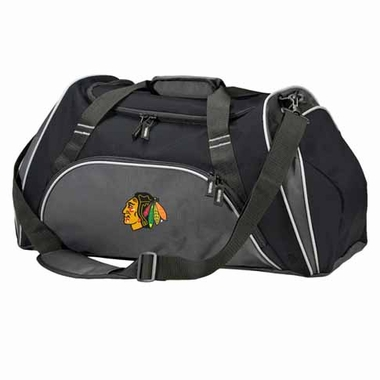 Chicago Blackhawks Action Duffle (Color: Black)