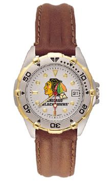 Chicago Blackhawks All Star Womens (Leather Band) Watch