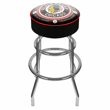 Chicago Blackhawks Barstool (Vintage)