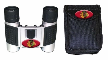 Chicago Blackhawks Binoculars and Case