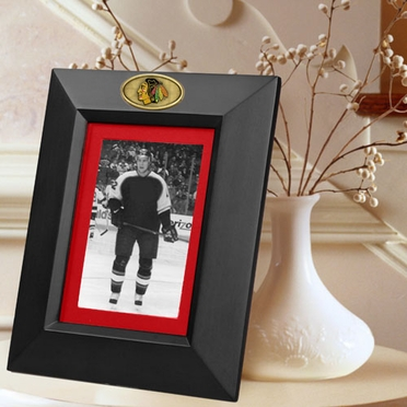Chicago Blackhawks BLACK Portrait Picture Frame