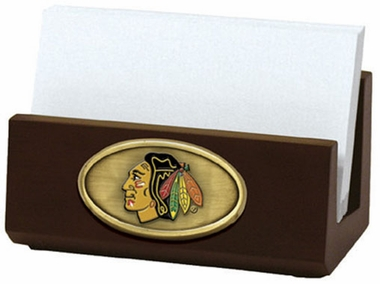 Chicago Blackhawks Business Card Holder