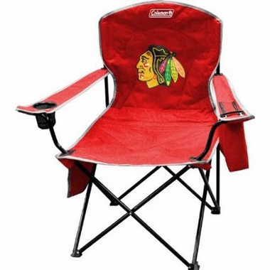 Chicago Blackhawks Cooler Quad Tailgate Chair