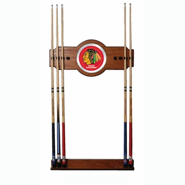 Chicago Blackhawks Cue Rack