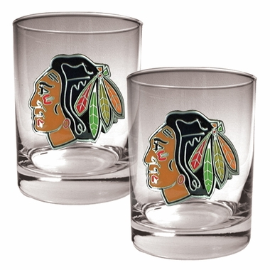 Chicago Blackhawks Double Rocks Set
