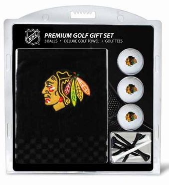 Chicago Blackhawks Embroidered Towel Gift Set