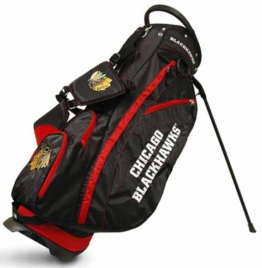 Chicago Blackhawks Fairway Stand Bag