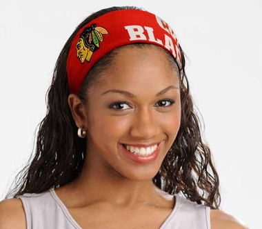 Chicago Blackhawks FanBand Hair Band