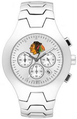 Chicago Blackhawks Hall of Fame Mens Watch
