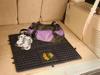 Chicago Blackhawks Heavy Duty Vinyl Cargo Mat