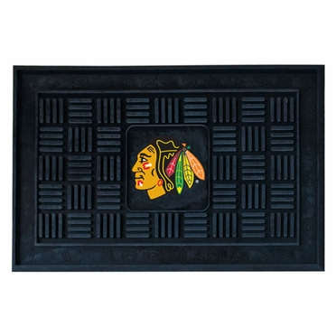 Chicago Blackhawks Heavy Duty Vinyl Doormat