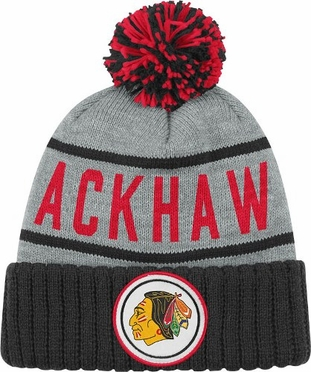 Chicago Blackhawks High 5 Vintage Cuffed Pom Hat