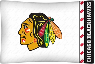 Chicago Blackhawks Individual Pillowcase