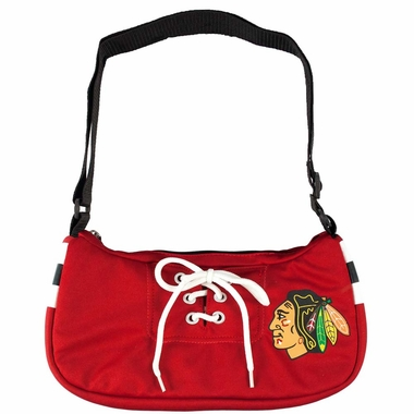 Chicago Blackhawks Jersey Material Purse