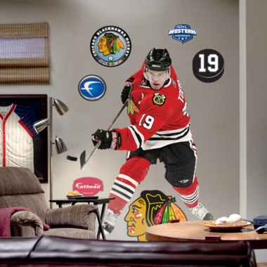 Chicago Blackhawks Jonathan Toews Fathead Wall Graphic