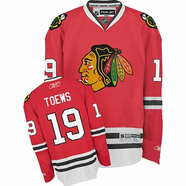 Chicago Blackhawks Jonathan Toews Reebok Team Color Premier Jersey