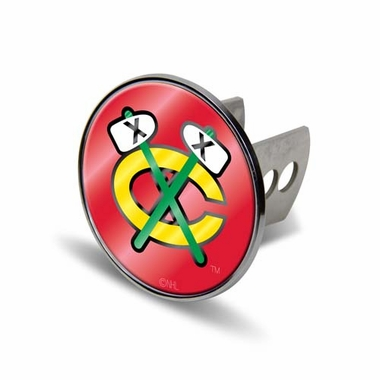 Chicago Blackhawks Laser Hitch Cover