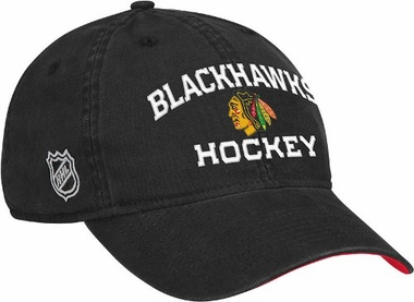 Chicago Blackhawks Locker Room Team Slouch Adjustable Hat