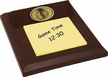 Chicago Blackhawks Memo Pad Holder