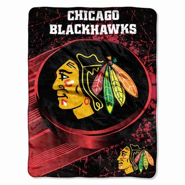 Chicago Blackhawks Microfiber Throw