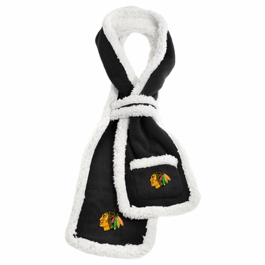 Chicago Blackhawks NHL Team Sherpa Scarf