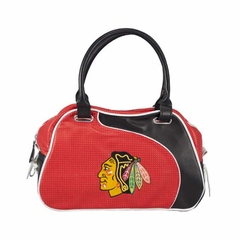 Chicago Blackhawks Perf-ect Bowler Purse
