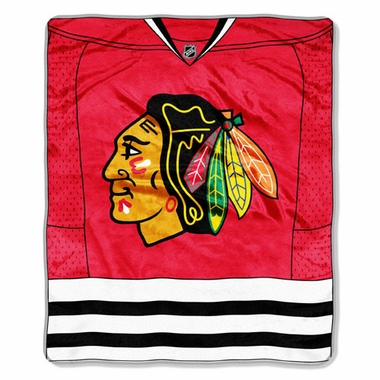 Chicago Blackhawks Plush Blanket