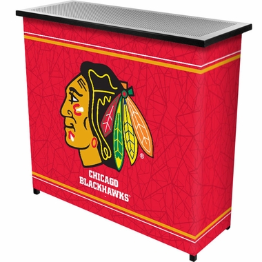 Chicago Blackhawks Portable Bar
