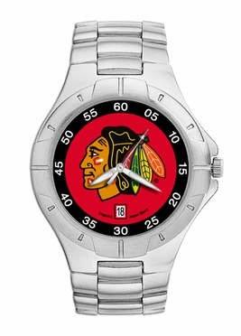 Chicago Blackhawks Pro II Men's Stainless Steel Watch