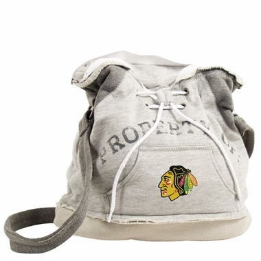 Chicago Blackhawks Property of Hoody Duffle