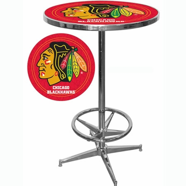 Chicago Blackhawks Pub Table