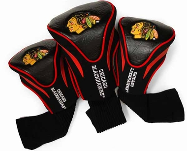 Chicago Blackhawks Set of Three Contour Headcovers