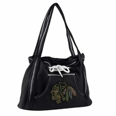 Chicago Blackhawks Sport Noir Hoodie Purse