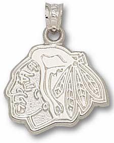 Chicago Blackhawks Sterling Silver Pendant