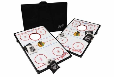Chicago Blackhawks Tailgate Toss Cornhole Beanbag Game