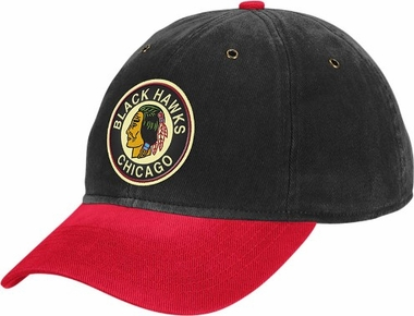 Chicago Blackhawks Throwback Vintage Adjustable Hat