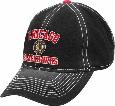 Chicago Blackhawks Throwback Vintage Adjustable Slouch Hat