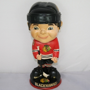 Chicago Blackhawks Vintage Retro Bobble Head