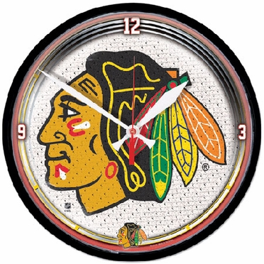 Chicago Blackhawks Wall Clock
