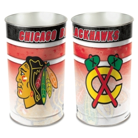 Chicago Blackhawks Waste Paper Basket