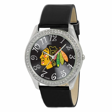 Chicago Blackhawks Women's Glitz Watch